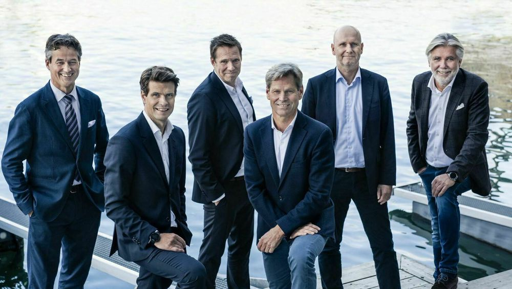 Erik G. Braathen, Brede Huser, Thomas Ramdahl, Asgeir Nyseth, Alf Sagen, Bjørn Erik Barman-Jenssen og Tord Meling.