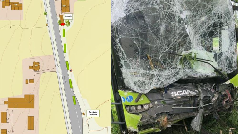Om bussen hadde hatt et elektronisk førerstøttesystem kunne trolig ulykken vært unngått.