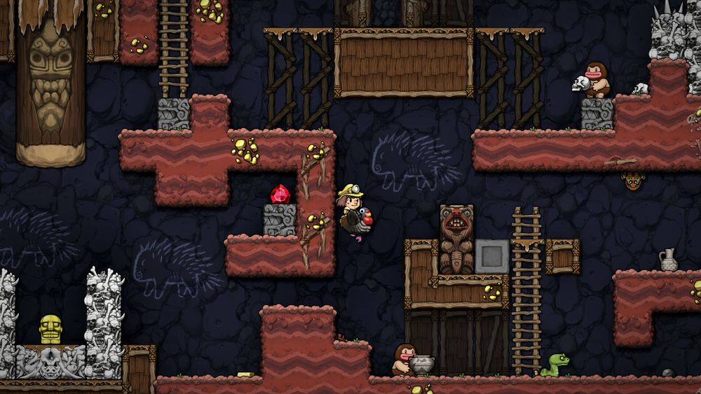 Spelunky 2 = Roguelike-like