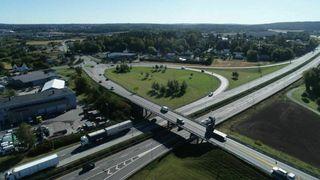 Ny kontrakt verdt 103 mill: Riksvei 22-bru over E6 ved Fredrikstad