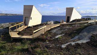 Flokehyttene Haugesund Turistforening Holon Procon Roald Bø arkitekt statikk vindlast
