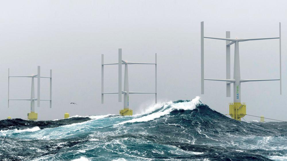Demo-møllen fra Sea Tirl som skal testes i Norge skal ha en turbin som yter 1 MW. Men i framtida kan slike møller ifølge Sea Twirls forretningsutvikler, utstyres med turbiner på inntil 30 Megawatt.