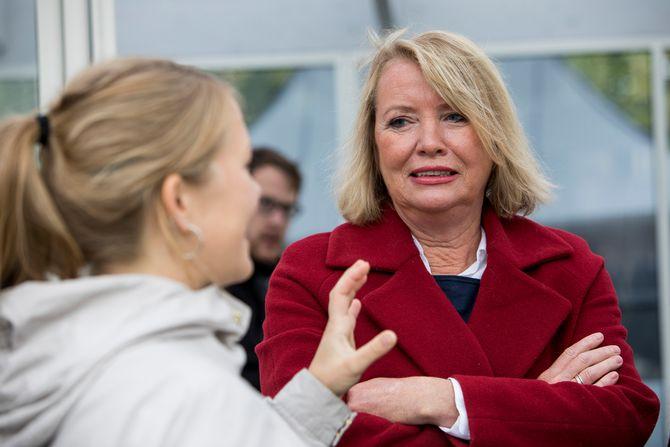 Kommentator Marie Simonsen i Dagbladet. Arkivfoto