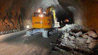 Tunnelarbeidene på Haukelifjell er ferdige for i år. Men ennå gjenstår to år med sommerkolonner