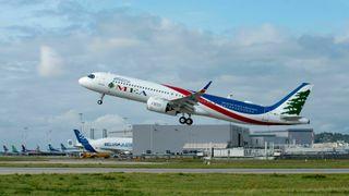 Airbus prøvde seg på en slags flyfeiring – midt oppe i flere kriser