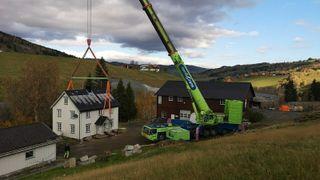 Stort løft måtte til for å gi plass for ny E6 i Trøndelag