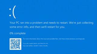 Utnyttelse av CVE-2020-16898-sårbarheten i Windows 10 fører blant annet til blåskjerm.