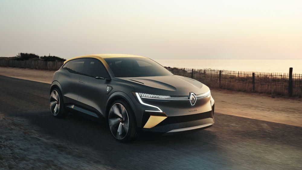 Renault Megane eVision har 20 tommers hjul.