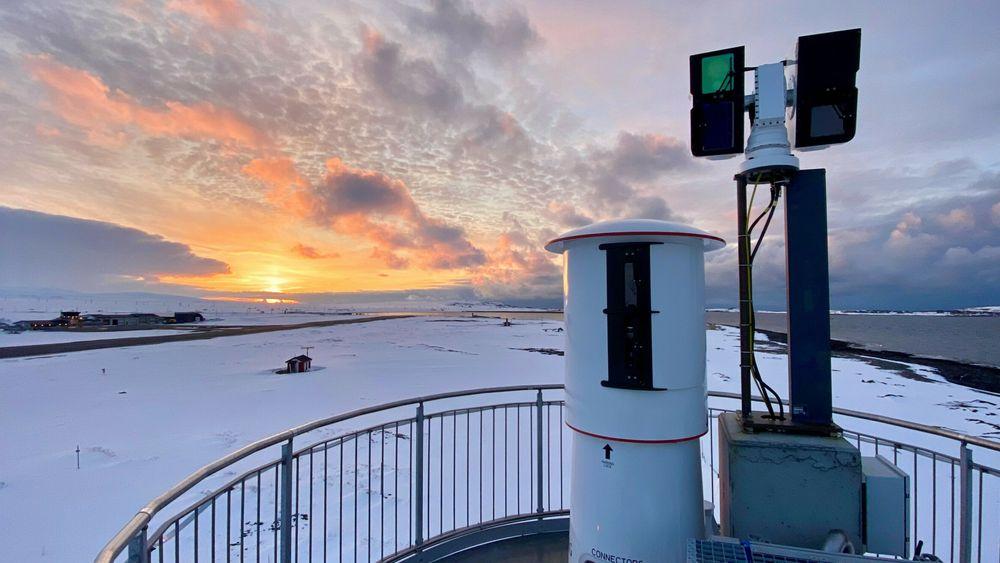 Ninox-sensorer på Vardø lufthavn