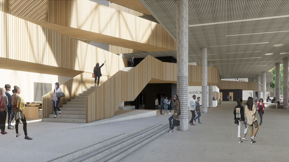 Livsvitenskapsbygget ved UiO skal binde sammen en rekke fagmiljøer fra kjemi, bilologi og medisin i et nytt tverrfaglig kompetansemiljø. Bygget blir kjernen i det nye Oslo science centre.