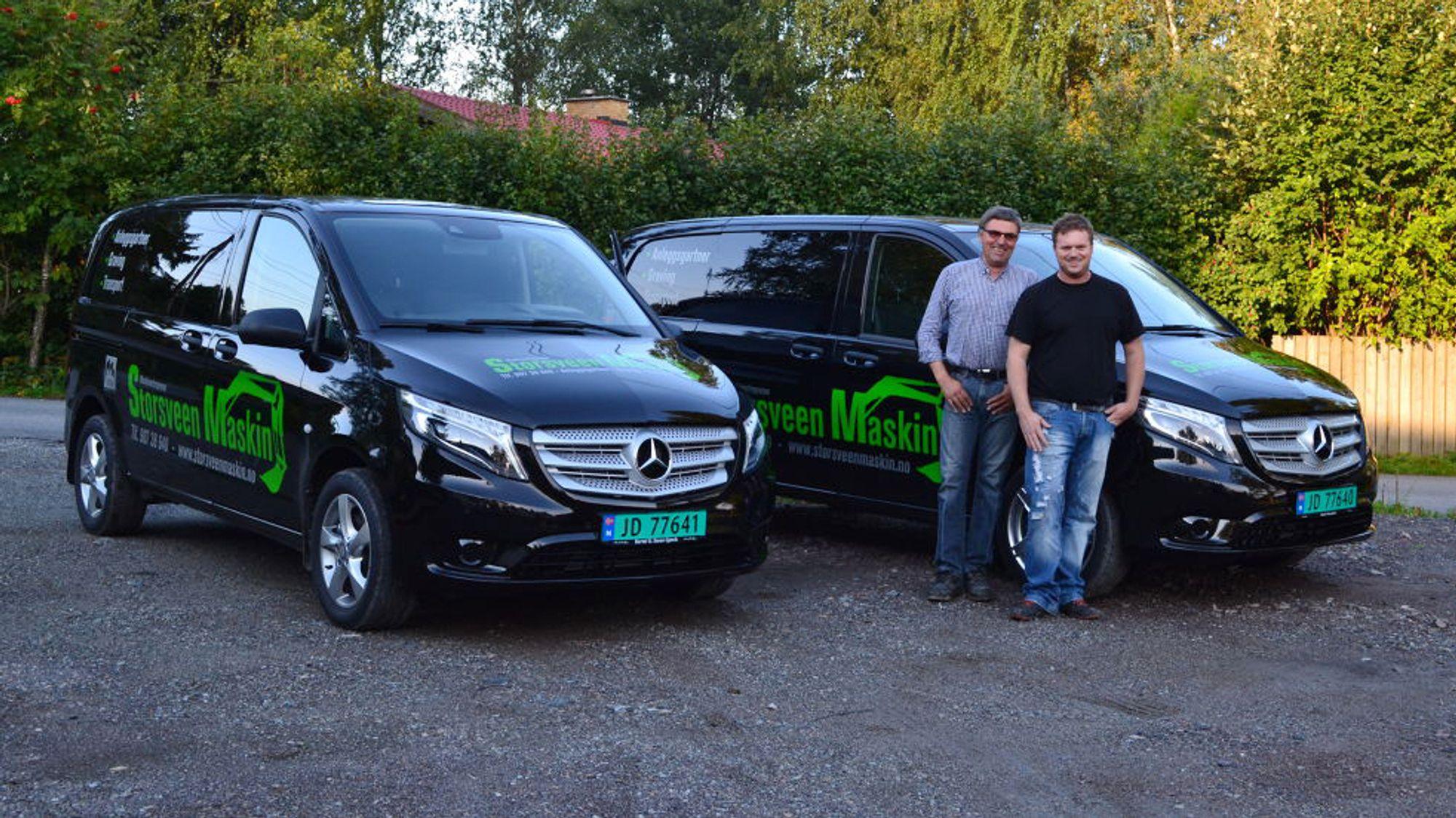 Magne og Egil Storsveen i nittedalsfirmaet Storsveen Maskin vant mot MT-Entreprenør i retten.