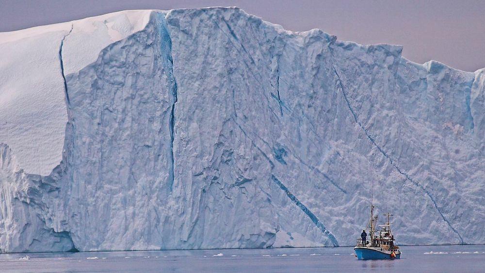 Ifølge en 2019-studie smelter isen på Grønland fire ganger så raskt som i 2003.