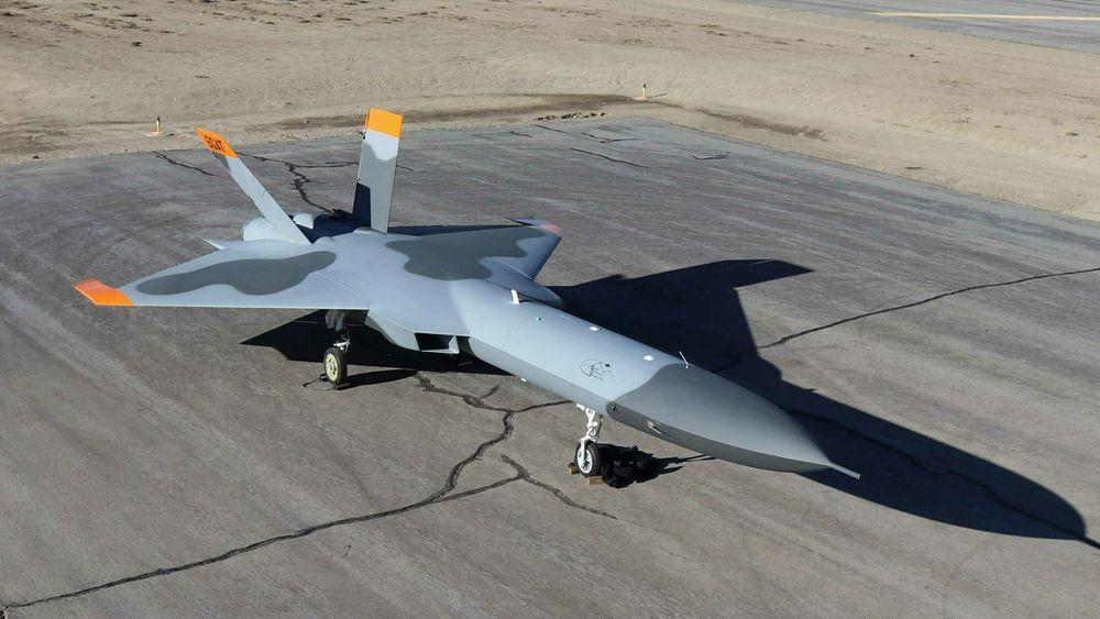 Den nye måldronen 5GAT ble vist fram offentlig første gang i januar 2020.