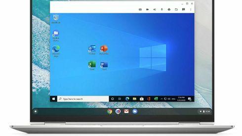Nå kan du kjøre Windows-programmer på Chromebook