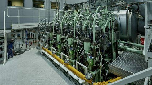 Utvikler komplett drivstoffsystem og to-taktsmotor for ammoniakk