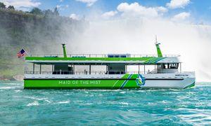 Helelektriske sightseeingbåter settes i drift ved Niagarafallene