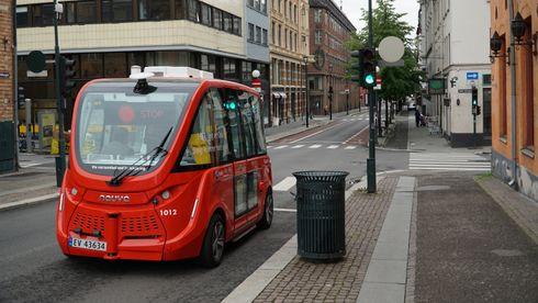 Frem til nå har selvkjørende busser holdt seg under 18 km/t – her skal de kjøre i opp mot 50 km/t