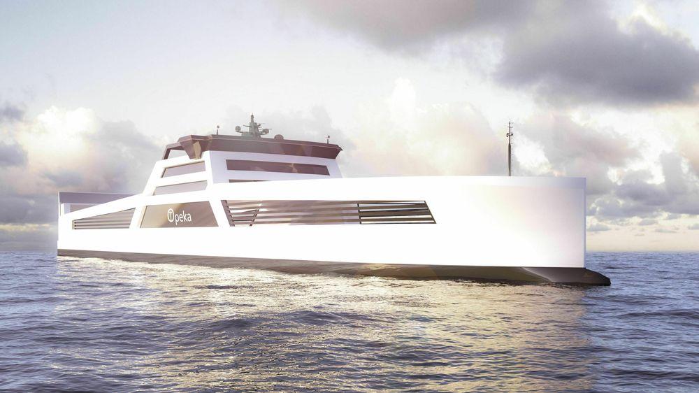 Frakteskipet Topeka skal gå mellom offshore forsyningsbaser med flere typer gods samt hydrogen til bunkringsstasjoner.