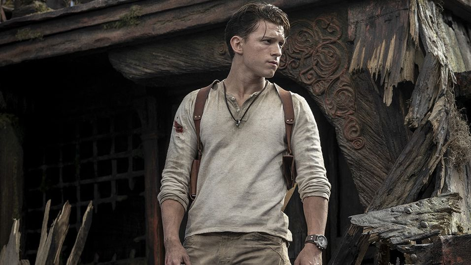 Spider-Man-skuespiller Tom Holland som Nathan Drake.