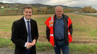 Nå kommer pengene: To milliarder kroner til ny riksvei 4 på Hadeland