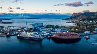 Midt i korona-krisen kommer det cruiseskip til norsk verft