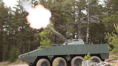 Finsk bombekaster kan bli produsert på Kongsbergs suksessfabrikk i USA