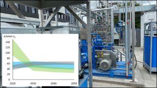 Statnett: Grønt og blått hydrogen kan konkurrere på pris om ti år