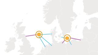 Planleggingen har startet: Offshore-nett og havvind-huber i Nordsjøen og Østersjøen