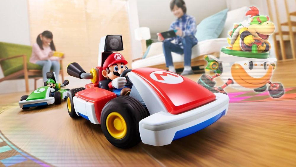 ANMELDELSE: Mario Kart Live: Home Circuit