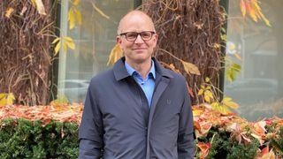Marius Mårnes Mathiesen er daglig leder i Shortcut, som nå vokser seg større i utlandet.