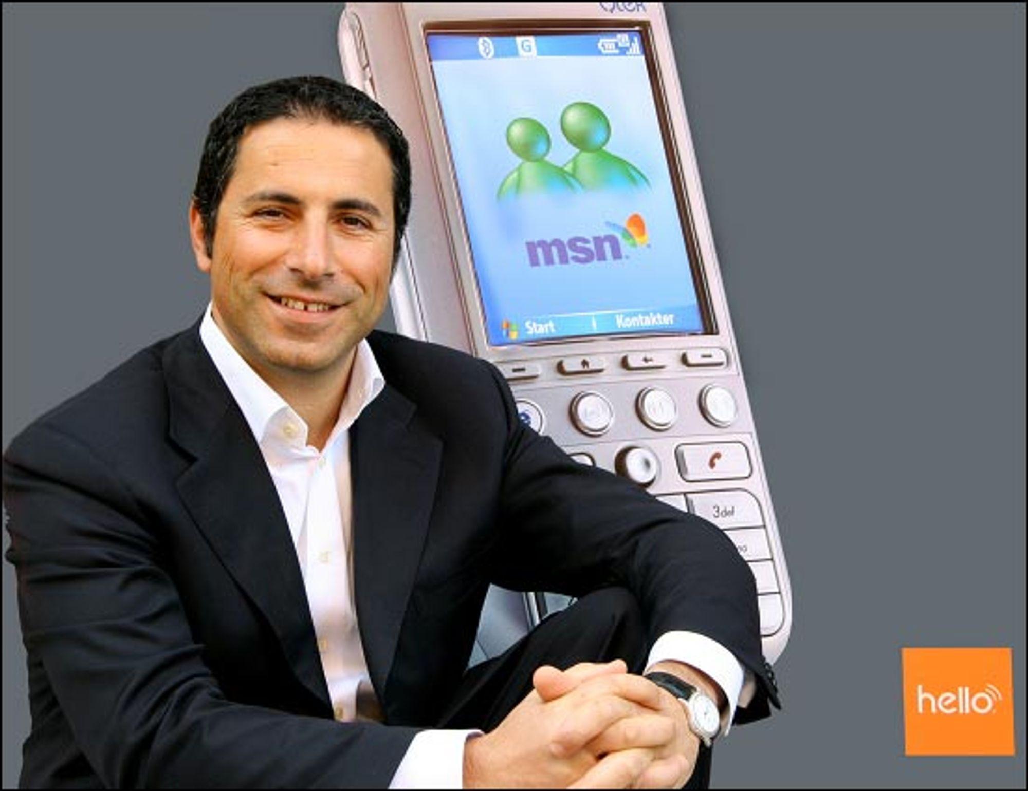 Hello og Nadir Nalbant vant mot NetCom i retten. (Foto: Hello)