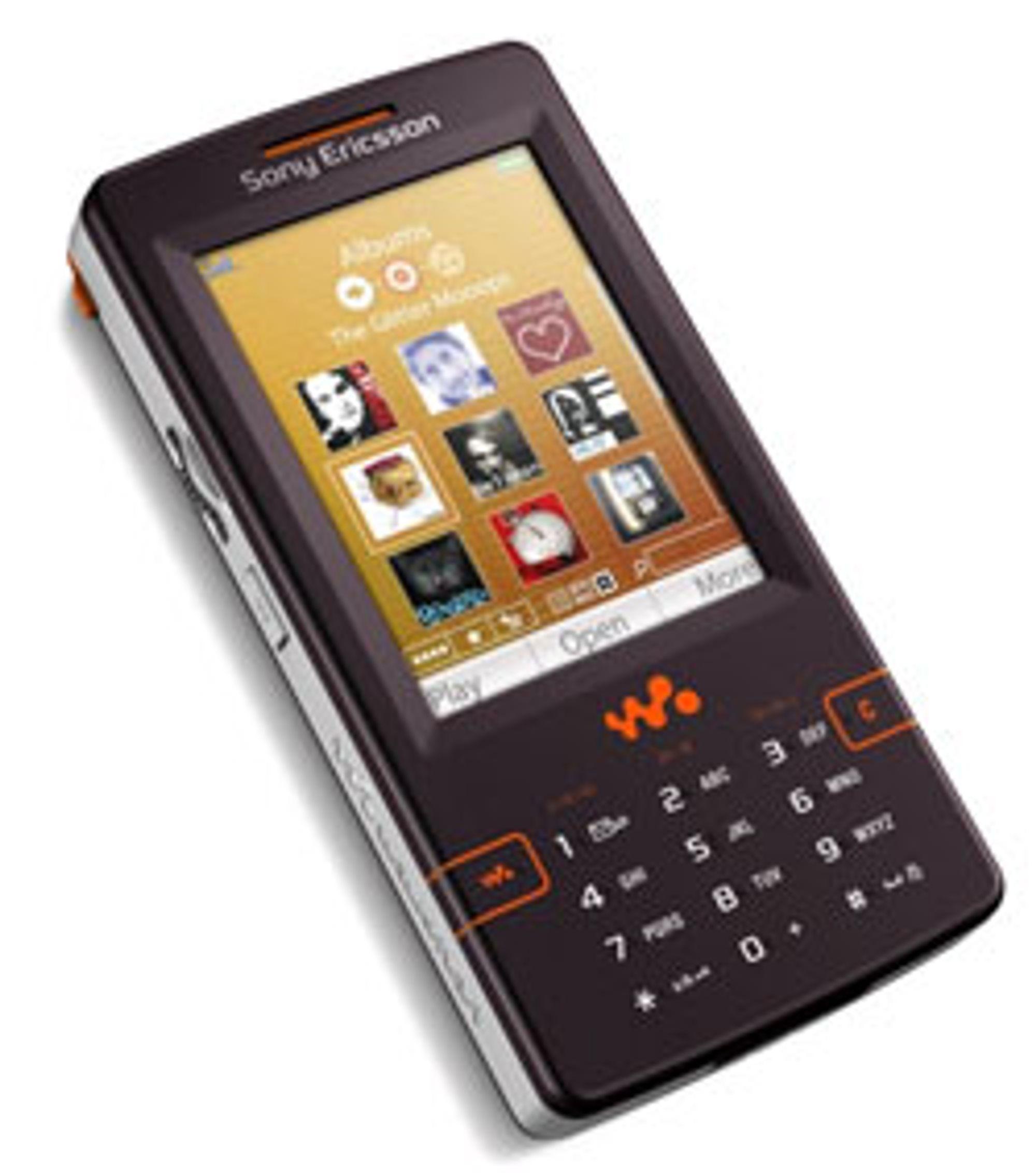 Sony Ericsson W950i er basert på UIQ-systemet.