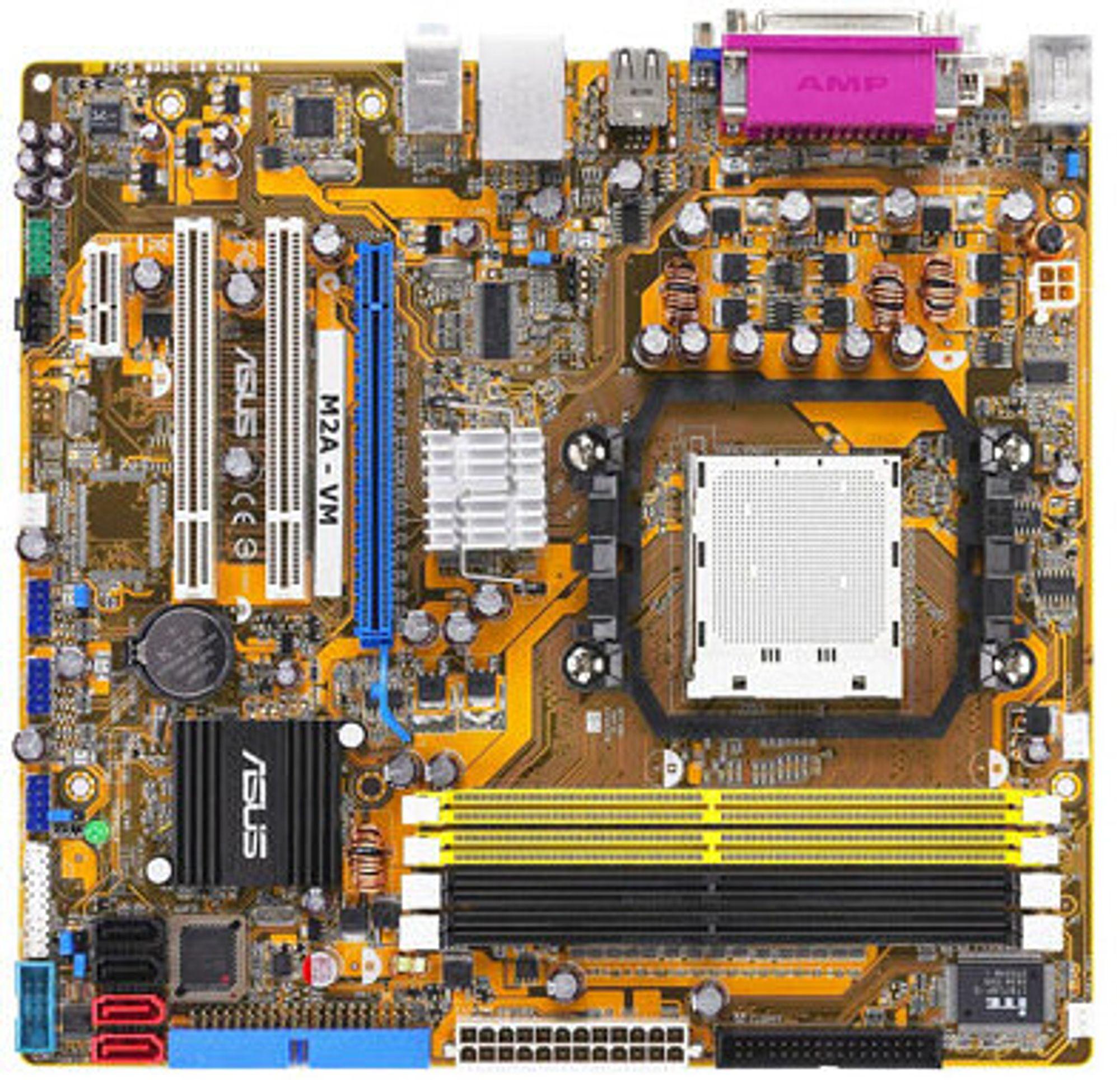 AMD690-hovedkort fra Asus