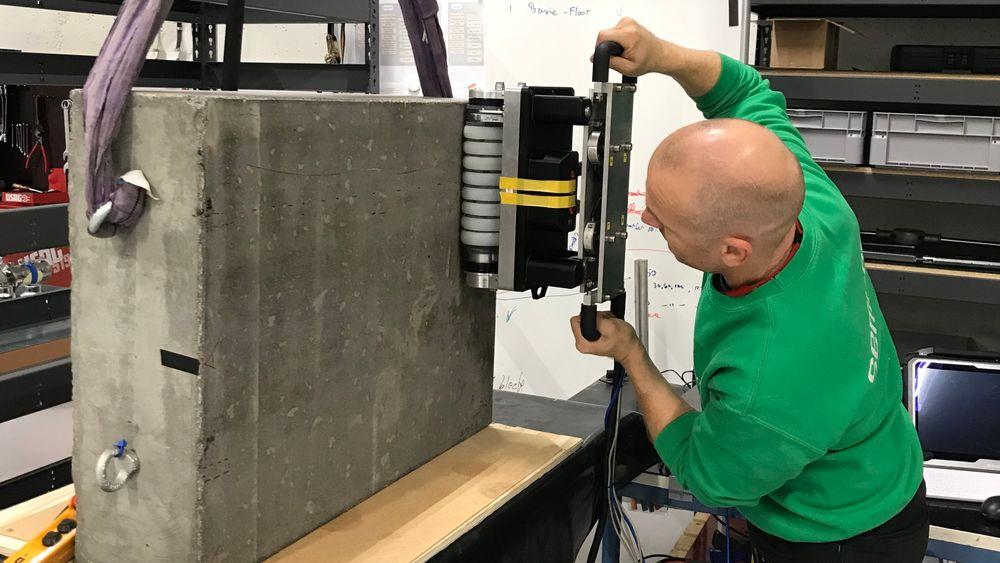 Produktutviklingsselskapet Semcon har blant annet hatt ansvaret for å teste og verifisere forbedringer av betongskanneren til Elop.