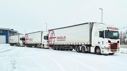 Digitale«tungbil-tog» er tidligere testet på firefelts motorveier: Påsmale, svingete vinterveier i Norge møtte de utfordringer