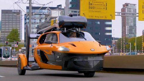 Denne flyvende bilen er godkjent for europeiske veier