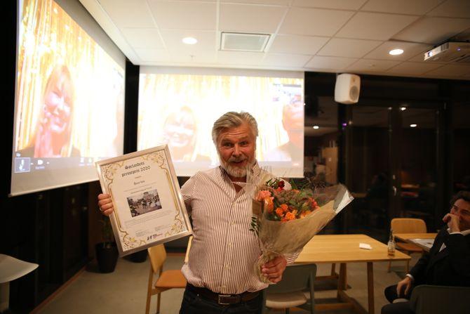Årets foto gikk til Kjartan Bjelland - Fædrelandsvennen - for bildet «Koranbrenning på Torvet»