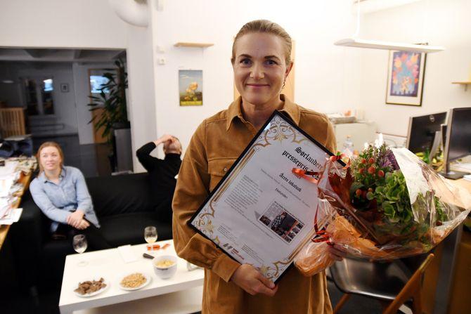 Årets lokalsak gikk til Janicke Yttervik - Grimstad Adressetidende - for saken «Ekelunden»