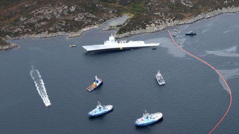 Forsvaret skylder på DNV GL for at «Helge Ingstad» sank – krever minst 15 milliarder kroner