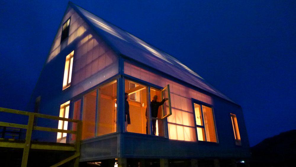 Ny byggemetode klar for testing i arktisk klima