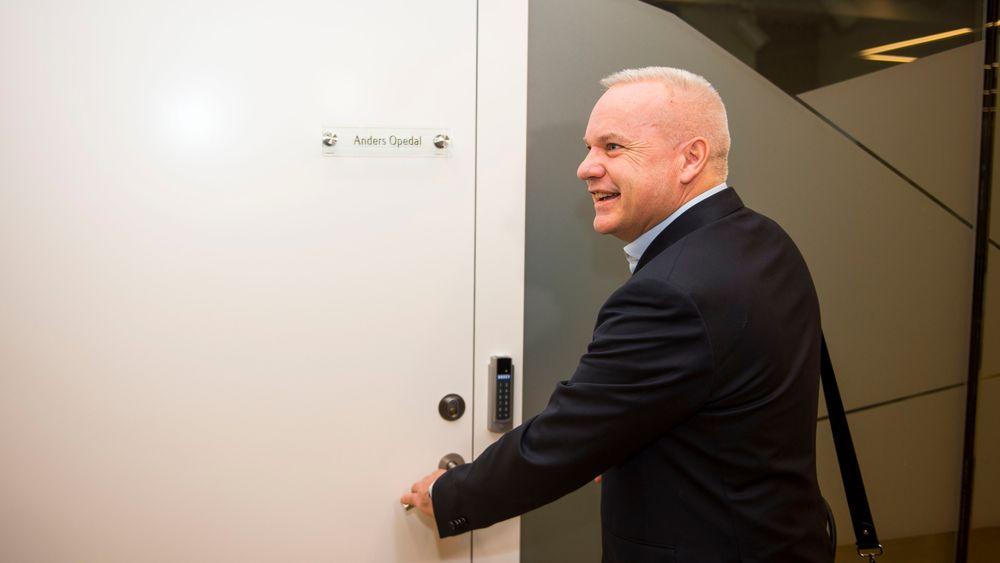 Anders Opedal tok mandag morgen over som konsernsjef i Equinor.