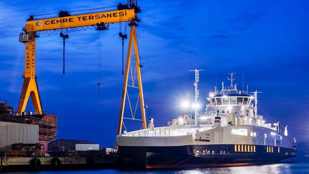 Tyrkia er blitt Norges største konkurrentland på bygging av ferger og fiskefartøy.