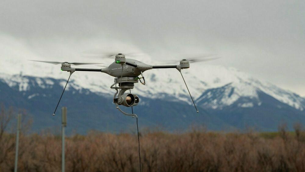 Slike Indago 3-droner er nå på vei inn i det norske forsvaret. Også den sveitsiske hæren bestilte nylig tilsvarende droner.