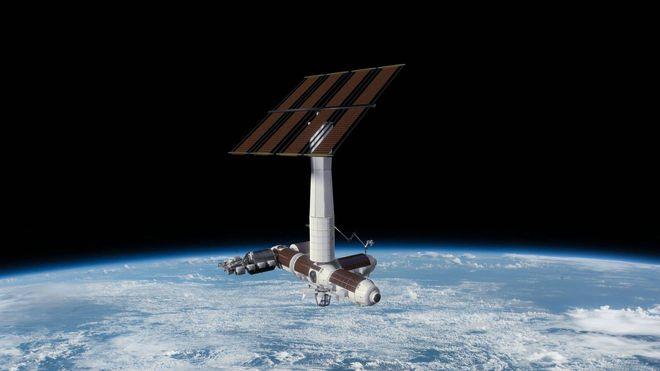 Den internasjonale romstasjonen går mot pensjon: Første kommersielle stasjon på vei