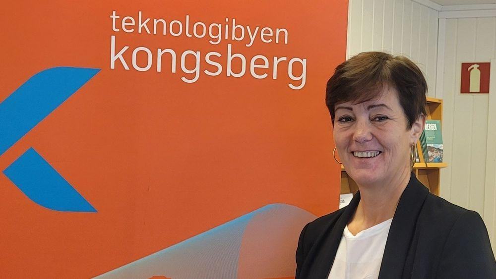 Wivi-Ann Bamrud, leder av Kongsberg næringsforening.