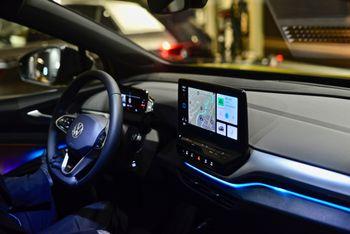 Infotainmentsystemet i ID-bilene skal forbedres.