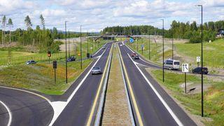 Gigantprosjektet er ferdig: Nå skal det bygges bruer og kryss på gamleveien