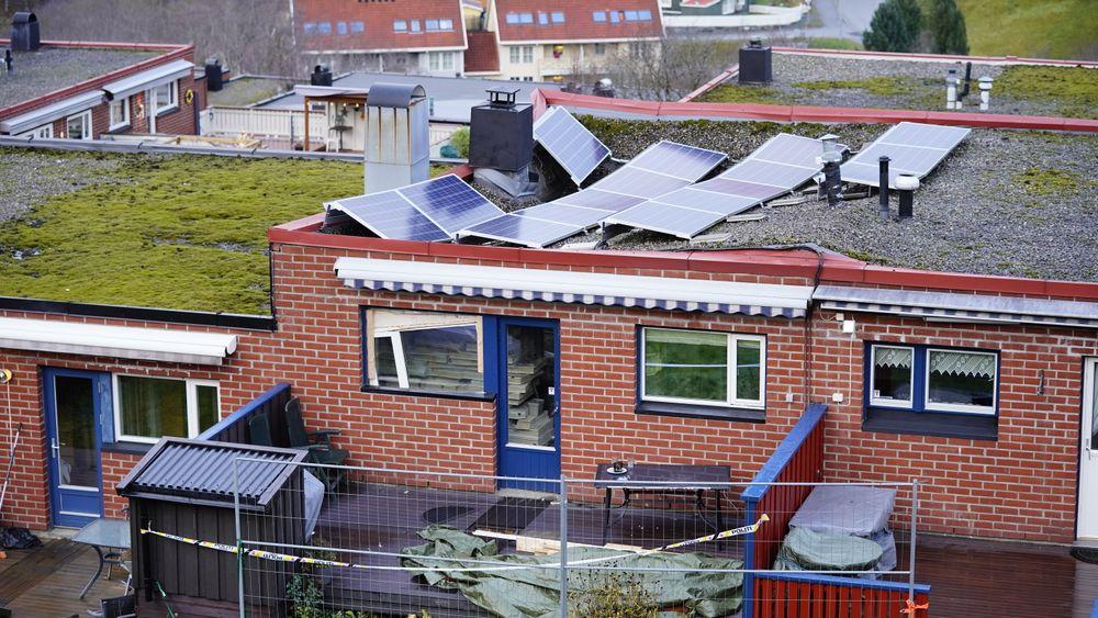 Et rekkehus har delvis kollapset i forbindelse med oppussing i Trondheim.
