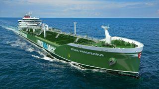 Metanol er løsningen for å nå internasjonale utslippskrav, mener Stena: Bestiller flere skip