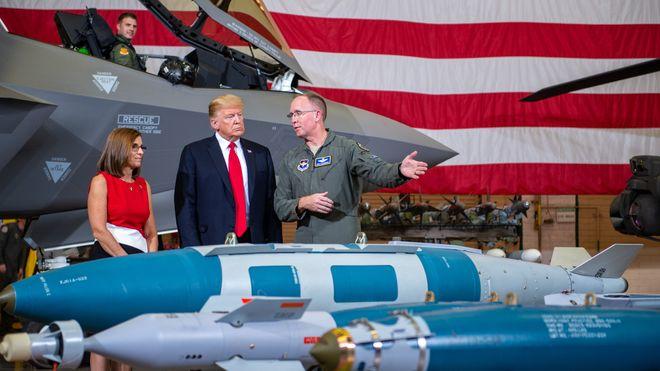 USA godkjenner salg av F-35 til De forente arabiske emirater